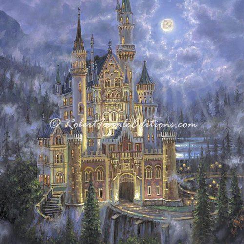 Moonlit Castle (SOLD)