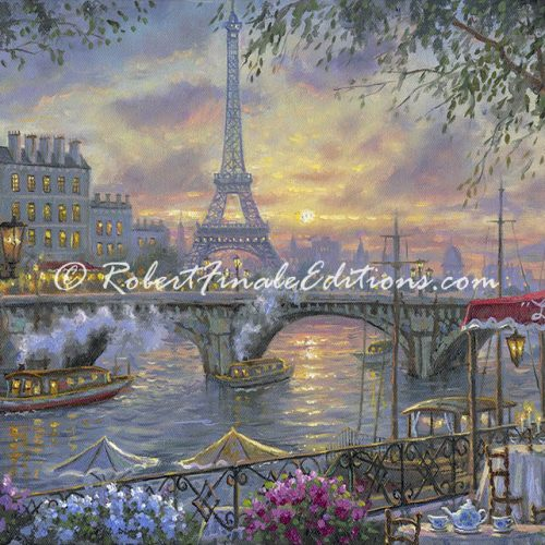 Tea time in Paris (SOLD)