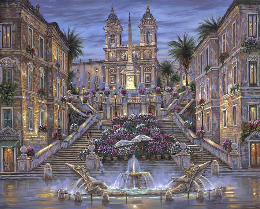 Rome-The-Spanish-Steps