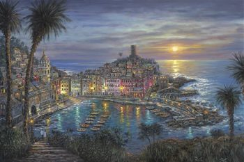 Vernazza-Sunset-WB-350x233 by Robert Finale Editions