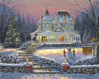 ChristmasCottage_Web-350x280 by Robert Finale Editions